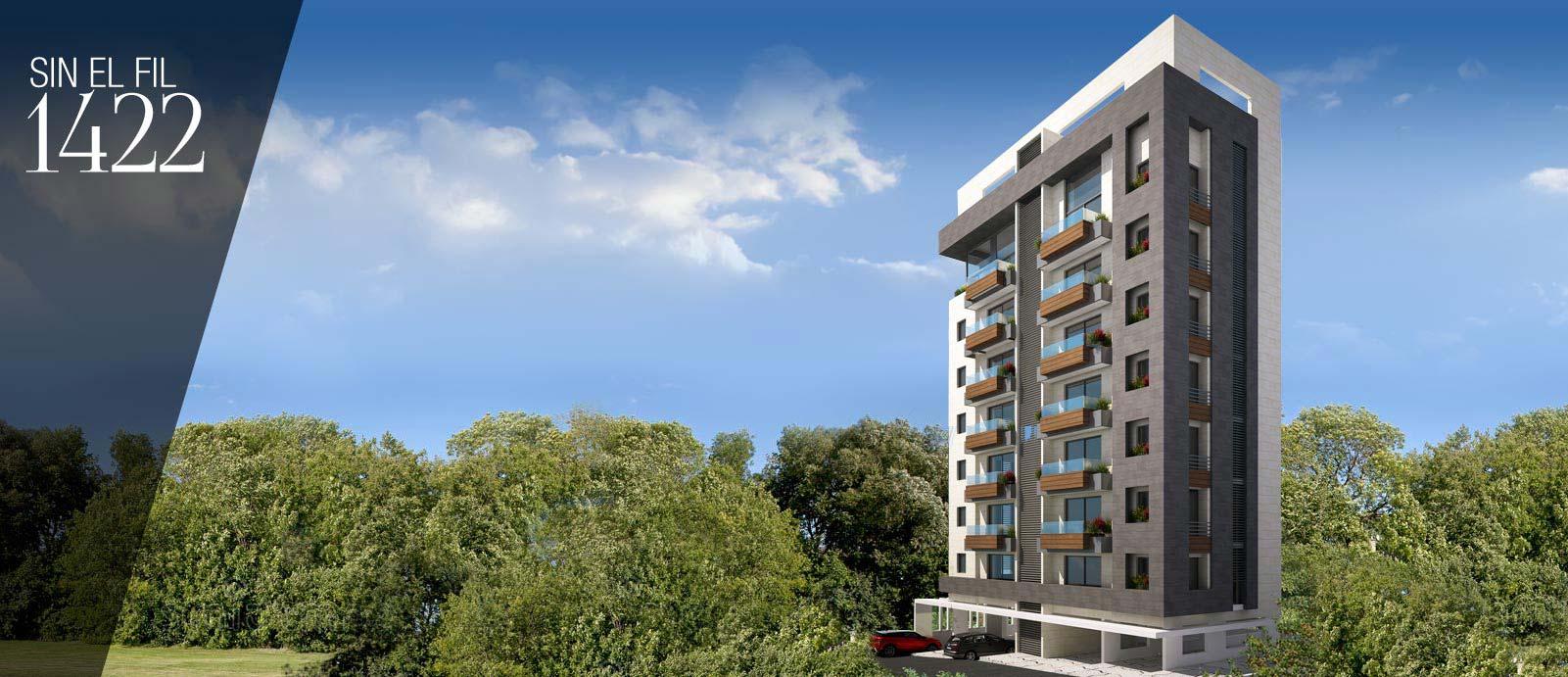 Apartments for sale in Sin El Fil 1422